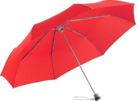 stabiler Handöffner-Taschenschirm von Fare, hier in rot als Artikel 5780 abgebildet