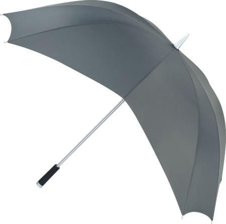 Regenschirm mit außergewöhnlichem Dach