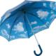 Wolkenmotiv als Innendruck bei einem Fare Regenschirm 7793