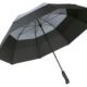schwarz-grauer Fare Regenschirm