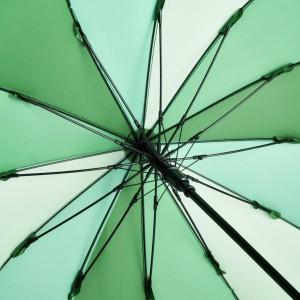 Regenschirm mit Bezug in Grüntönen