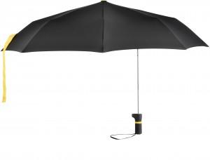 Taschenschirm-5199-schwarz-gelb-offen-senkrecht
