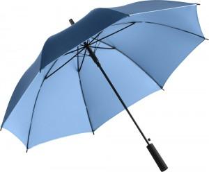 der Regenschirm Doubleface 1159 in der Farbkombination marine-hellblau