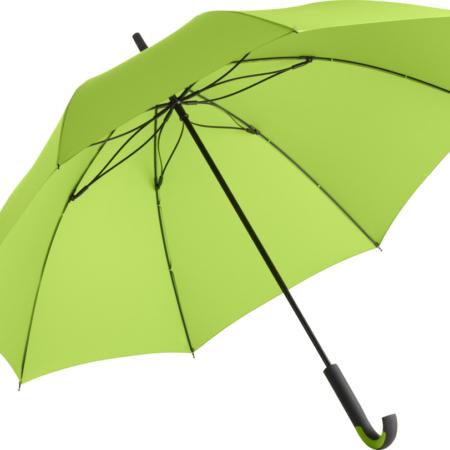 Stockschirm mit limette-farbenem Bezugstoff