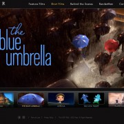 Screenshot The Blue Umbrella