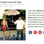 Varey und ihr Regenschirm-Träger