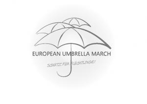 Marsch der Regenschirme - Logo des Veranstalters