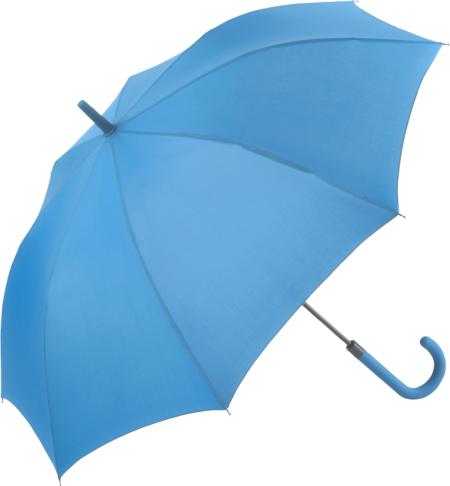 Cyanfarbene Regenschirme von Fare