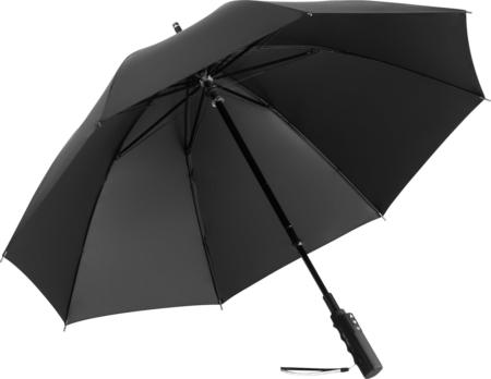 elektrischer Regenschirm mit schwarzem Bezug