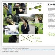 Designstudie des Regenschirm Eco Brolly als Screenshot