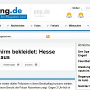 Regenschirme werden manchmal als Tatwaffe bei Verbrechen benutzt Screenshot Website