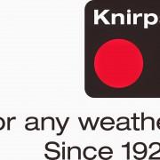 das Logo der Marke Knirps Regenschirme