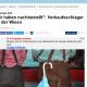 Screenshot über Regenschirme auf der Münchner Wiesn