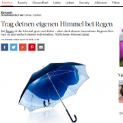 Screenshot Allover-Print Regenschirme