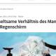 Regenschirme und Männer in einem Screenshot