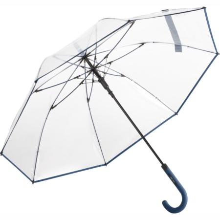 Regenschirm mit transparentem Bezug