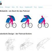 Radfahren Fare Regenschirme