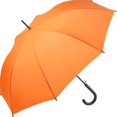 Automatik-Stockschirm von Fare mit orangefarbenem Bezug