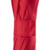 Detailaufnahme des Klettverschlusses eines roten Regenschirms von Fare