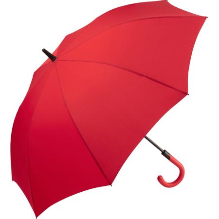 roter geöffneter Fare Regenschirm