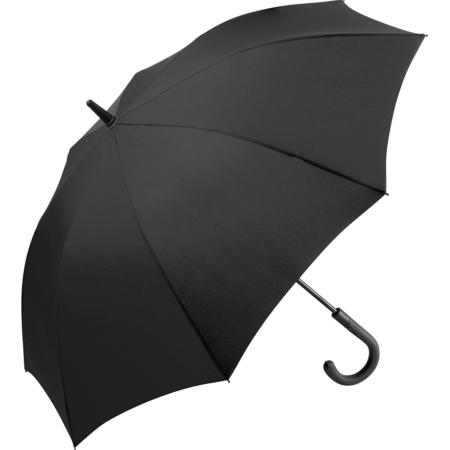 schwarzer geöffneter Fare Regenschirm