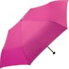Ansicht von oben auf einen aufgespannter Taschenschirm von Fare mit dem Namen FiligRain Only95 in pink