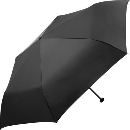 schwarzer Taschenschirm von Fare mit dem Namen FiligRain Only95