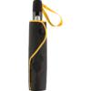 Taschenschirm-Futteral mit gelber Griffschlaufe