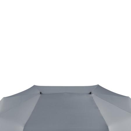 Bezugstoff eines Taschenschirms mit zwei Tops