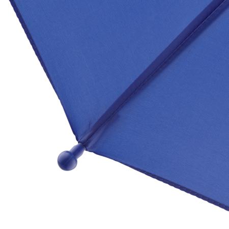 abgerundete und vergrößerte Spitze bei einem Kinder-Schirm von Fare