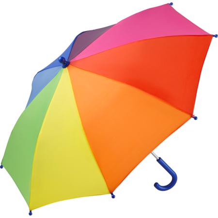 Kinder Regenschirm regenbogenfarben