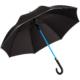 Regenschirm mit transparentem Stock mit LED Beleuchtung