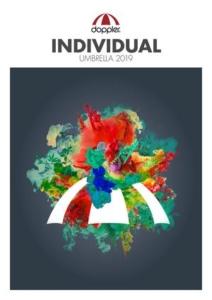 Cover des Knirps B2B Regenschirme Katalogs 2019