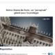 Bericht über den geplanten Regenschirm für Notre Dame