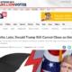 Trumps weitere Blamage mit Regenschirmen