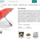 Listing von Fanbrella Regenschirme in einem Online-Shop
