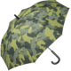 Regenschirm mit Camouflage Bezugstoff