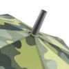 Camouflage Regenschirme Detailaufnahme Spitze